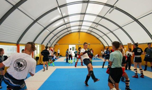 Namiot sportowy
